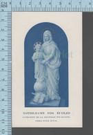 Notre Dame Des Ecoles Patronne De La Jeunesse étudiante  - Holy Card, Image Sainte Pieuse, Santini - Devotieprenten