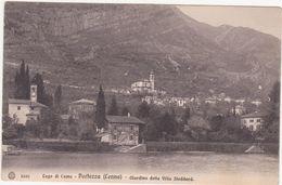 459  LAGO DI COMO PORLEZZA GIARDINO DELLA VILLA STODDARD 1930 CIRCA - Como