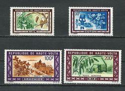 HAUTE-VOLTA  Scott 202-203, C73-C74 Yvert 204-205, PA73-pa74 (4) ** Cote 6,50$ 1969 - Haute-Volta (1958-1984)