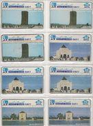 14-CARTES-HOLOGRAPHIQUE-MAROC-MONUMENTS-Toutes DIFFERENTES-BE - Maroc