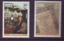 Ireland - 2001, Marsh Library 2v - Mnh - 1949-... Republic Of Ireland