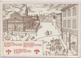 CPSM - FIRENZE - BAR RISTORANTE AL GIRARROSTO - Edition PUB - Firenze (Florence)