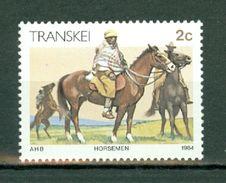 Transkei 1984  Mi 138**, SG 139**, Sc 130** Horsemen - Horses / Paarden / Chevaux / Pferde Stamps**  MNH - Transkei