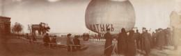 Voyage En Ballon Odessa Constantinople Aeronaute Gilbert Lot De 14 Photos Anciennes 1909 - Aviation