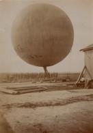 Moscou Ecole Polytechnique Etudiants Ballon A Gaz Aéronautique Ancienne Photo 1912 - Aviation