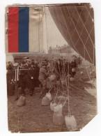 Moscou Vol En Ballon Aeronaute Charles Gilbert Panorama Ancienne Photo 9 Mai 1912 - Aviation