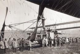 France Lamotte Breuil Aviation Dirigeable Clement Bayard Ancienne Photo Meurisse 1911 - Aviation
