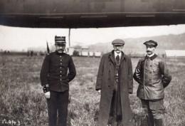 France Lamotte Breuil Aviation Dirigeable Clement Bayard Pilote Ancienne Photo Meurisse 1911 - Aviation