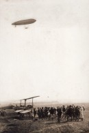 France Aviation Dirigeable Astra-Torres Grandes Manoeuvres Ancienne Photo 1910 - Aviation