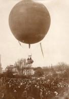 France St Cloud Aviation Capitaine Georges Bellenger En Ballon Ancienne Photo 1911 - Aviation