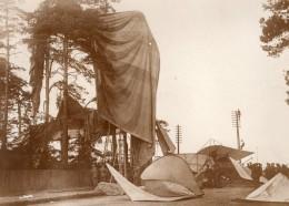 Farnborough Aviation Accident Du Dirigeable Lebaudy Morning Post Ancienne Photo 1911 - Aviation