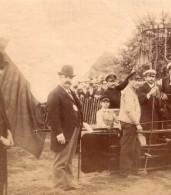 France Aviation Exposition Universelle ? Paris Ballon Captif Ancienne Photo 1900? - Aviation