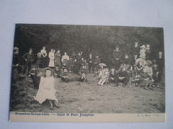 Schaerbeek  (Bruxelles) Dans Le Parc Josaphat (animee) Ca 1900 Ed. L.L.777 - Schaerbeek - Schaarbeek