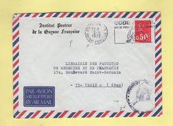 Guyane - Cayenne - Institut Pasteur - 1972 - Marianne De Bequet - Guyana (1966-...)