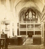 Allemagne Potsdam Stadtkirche Ancienne Stereo Photo Selle 1880 - Photographs