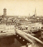 Allemagne Berlin Panorama Ancienne Stereo Photo Stiehm Linde 1880 - Photographs