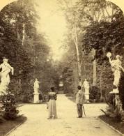 Allemagne Potsdam Jardin Du Sans Souci Ancienne Stereo Photo Strohmeyer 1890's - Photographs