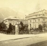 Autriche Tyrol Innsbruck Stadtsäle Ancienne Stereo Photo 1890 - Photographs