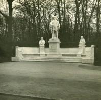Allemagne Berlin Siegesallee Monument Friedrich Wilhelm I Ancienne Photo Stereo Amateur 1919 - Photographs