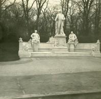 Allemagne Berlin Siegesallee Monument Friedrich Der Große Ancienne Photo Stereo Amateur 1919 - Photographs