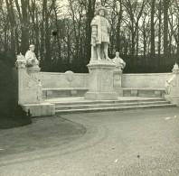 Allemagne Berlin Siegesallee Monument Joachim Ier Nestor Ancienne Photo Stereo Amateur 1919 - Photographs