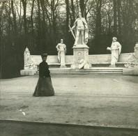 Allemagne Berlin Siegesallee Monument Kaiser Sigismund Ancienne Photo Stereo Amateur 1919 - Photographs
