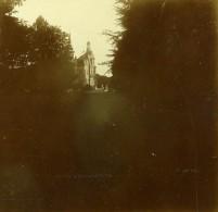 Belgique Brasschaet Chateau Thys Ancienne Stereo Photo Amateur 1919 - Photographs