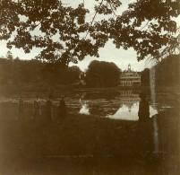 Belgique Brasschaet Polygone Château Du Mick Ancienne Photo Stereo Amateur 1919 - Photographs