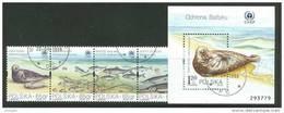 POLAND 1998 MICHEL No: 3706-3711;bl.132 USED /zx/ - 1944-.... République