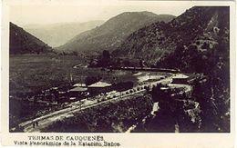 CILE CHILE TERMAS DE CAUQUENES VISTA PANORAMICA DE LA ESTATION BANOS - Cile