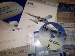 Menu Paris Montréal + Dossier A380 World Tour 2007 (DVD, Etc) - Other
