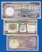 Arabie  Saoudite  5  Billets  Dans  L'etat - Arabia Saudita