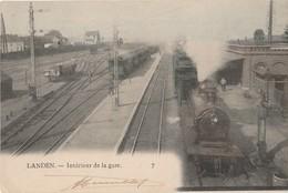 Landen -  Intérieur De La Gare - Landen