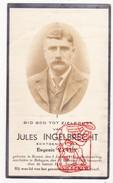 DP Foto Jules Ingelbrecht ° Roksem Oudenburg 1876 † Bekegem Ichtegem 1939 X Eug. Vyvey - Devotion Images
