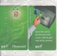 UK - 2nd Definitive Issue(DEF016B) 3 Pounds(02/3/000011), Chip GPT2, Etirage 9000, Exp.date 03/99, Mint - United Kingdom