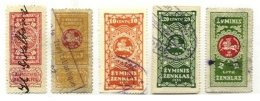 LITHUANIA, Revenues, Used, F/VF, Cat. £ 30 - Lithuania