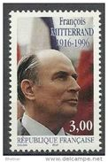 """Timbre France  YT 3042 """" F. Mitterrand """" 1997 Neuf - Unused Stamps"""