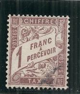 France  5 Timbres -  Taxe N°série De 5 Timbres Taxes - Taxes