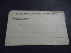 1266. Posta Per Internati Civili Di Guerra In Franchigia Postale.Internato Nel Campo Di Concentramento Di Bagno A Ripoli - 9. WW II Occupation (Italian)