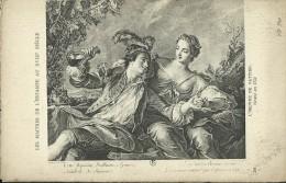 Les Maitres De L' Estampe Au XVIII Siecle - Nattier - Gravé En 11751 - Pintura & Cuadros