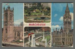 V2548 MANCHESTER Lancashire VIEWS VG SB FP (m) - Manchester