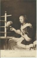 Mieris (Frans Van Senior) - A Lady In A Crimson Jacket - National Gallery - London - Peintures & Tableaux
