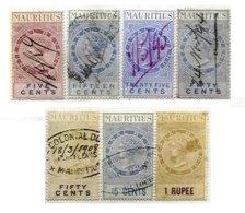 MAURITIUS, Revenues, Used, F/VF, Cat. £ 25 - Maurice (...-1967)