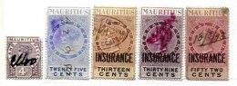 MAURITIUS, Revenues, Used, F/VF - Mauritius (...-1967)