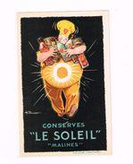 """Conserves """"Le Soleil"""" Malines - Publicité"""