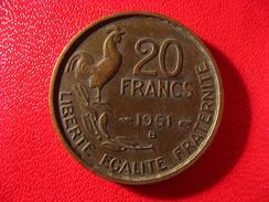 20 Francs Guiraud 1951 B - 4 Faucilles 3636 - France
