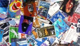 Great Britain LazyBag 500g (1LB-1½oz) All Reigns OFF PAPER Commem. Ca 5.000 Stamps GB[Vrac,mezlas,kilowaar Alla Finfusa] - Timbres