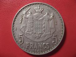 Monaco - 5 Francs 1945 7964 - Monaco