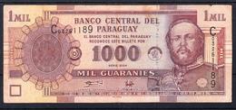 PARAGUAY 2004. 1000 GUARANIES. MARISCAL FRANCISCO SOLANO LOPEZ MBC     B1168 - Paraguay