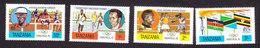 Tanzania, Scott #58-61, Mint Hinged, Olympics, Issued 1976 - Tanzania (1964-...)